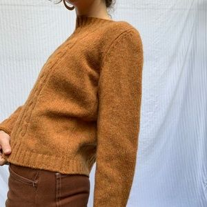 •UNITED COLORS OF OF BENETTON WOOL SWEATER•